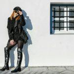 petite women's high boot